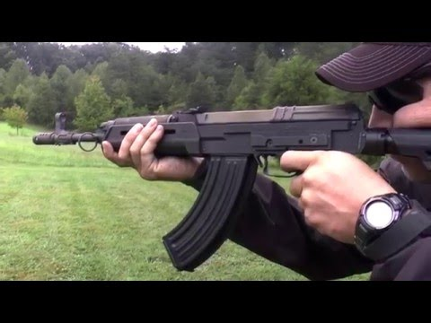 CzechPoint full auto vz. 58 with Magpul handguard