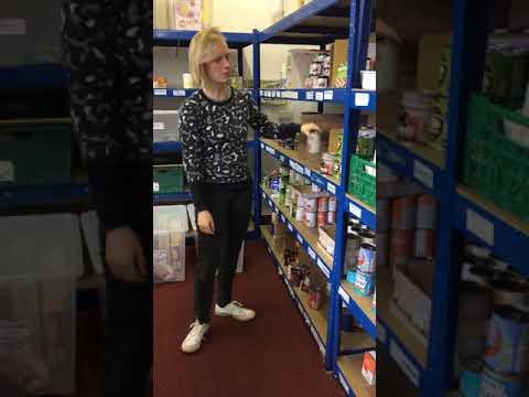 Holly Walsh At Lewisham Food Bank