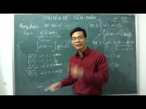 [ĐTN] Các phương pháp tính tích phân (phần 2)
