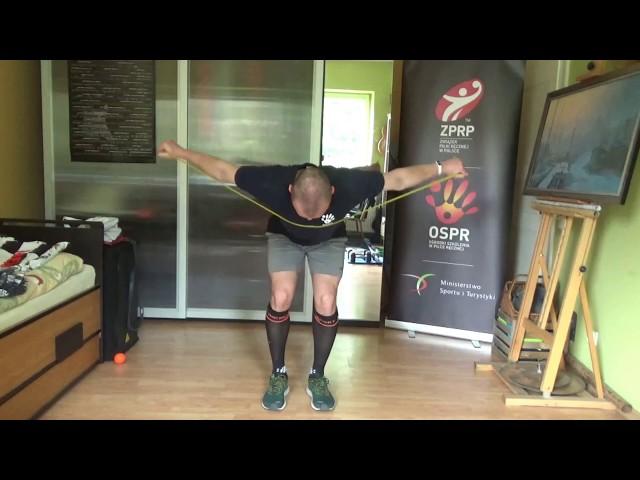 Wstęp do treningu mięśni pleców - aktywizacja mięśniowa