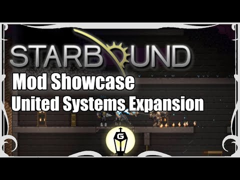 United Systems Expansion - Leeds City Campaign 1/3   Starbound Mod Showcase