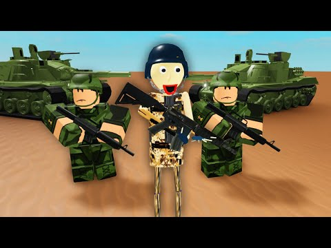 Baldi Joins The Army (Roblox Animation)