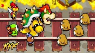 Trouble on the Train Tracks - Mario & Luigi: Bowser