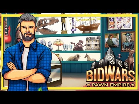 Kicked Pewdiepie Out of an Auction (Bid Wars: Pawn Empire Gameplay)