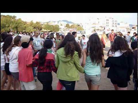 American Community School at Beirut visiting Aegina - Greece.MPG
