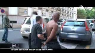 Reportage avec la bac de nuit de Paris 4