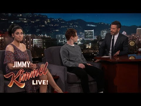 Sarah Silverman Surprises Jimmy Kimmel with Unhappy Guest