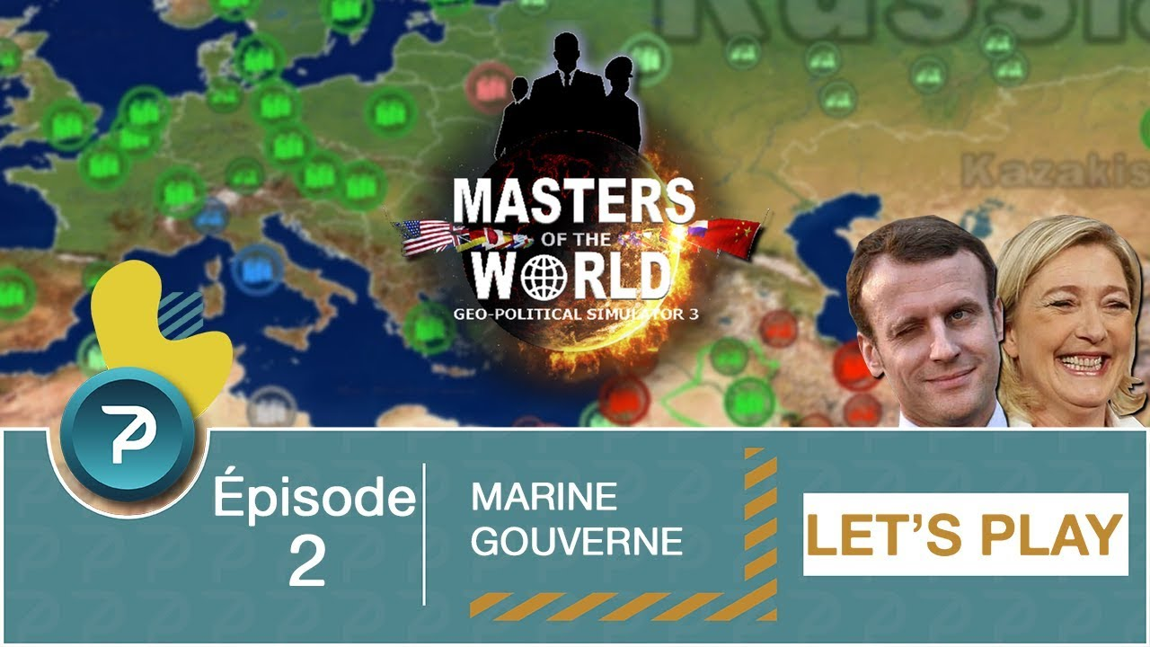 Download EMARINE LE PEN GOUVERNE !!! (Masters Of The World) Saison 2 - #2 [FR] [HD]