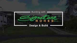 Signature Homes Design & Build time lapse