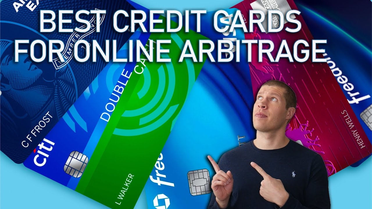 The Best Credit Cards for Online Arbitrage