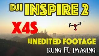 UNEDITED DJI INSPIRE 2 X4S 4K 60FPS FOOTAGE! [DJI Inspire 2 Footage #3]