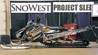 Snowest 2014 Polaris Pro Rmk Project Sled Build