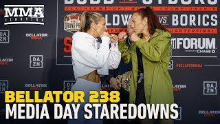 Bellator 238: Main Card Media Day Faceoffs - MMA Fighting