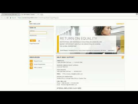 how to login into Bank of New York Mellon online banking account united states of america
