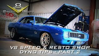 Tips For A Successful Dyno Session Video Part 2 V8TV