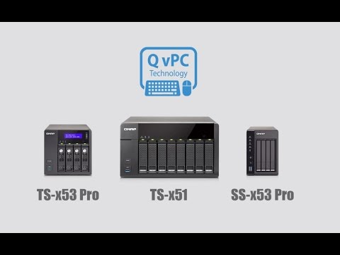 Use your NAS as a PC with QvPC Technology