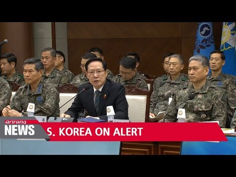 S. Korea's defense leaders on alert for any provocations by N. Korea