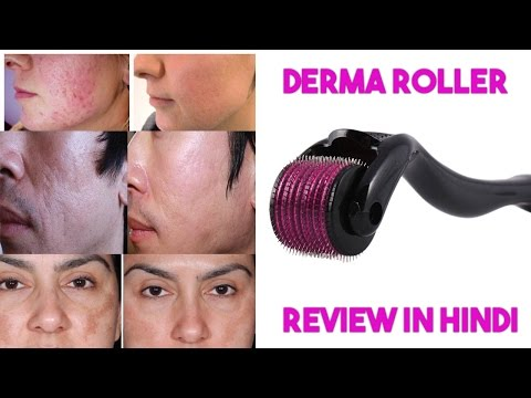 derma-roller-for-acne-scar-review-in-hindi