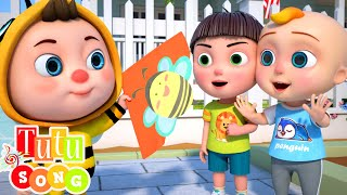Fly A Kite | TuTu Songs for Ch…