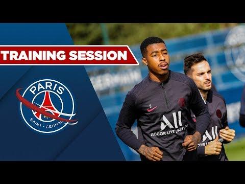 TRAINING SESSION : DIJON vs PARIS SAINT-GERMAIN