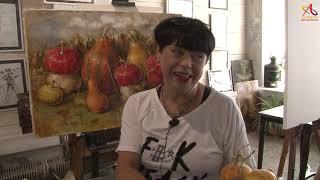 Видео урок живописи Мажорный аккорд