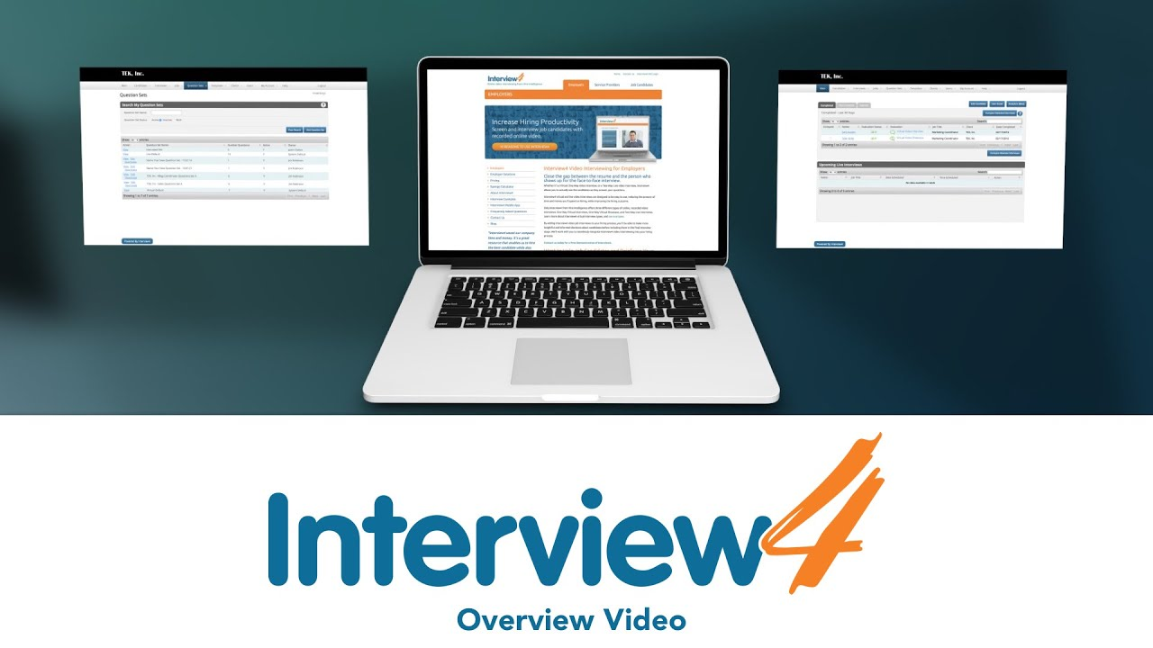 interview4 video interviewing from hire intelligence interview4 video interviewing from hire intelligence