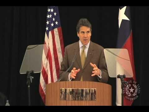 Gov. Perry: Texas' Workforce and Economic Development are Key to Prosperity
