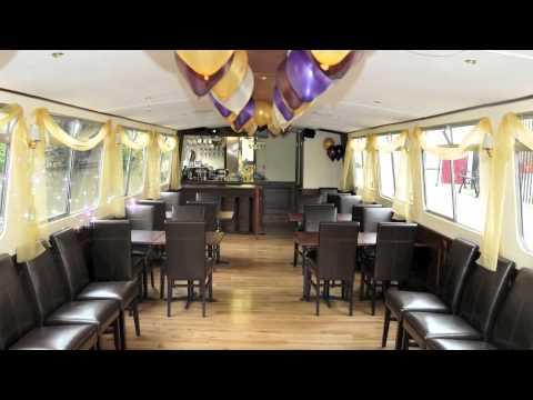 Bath Narrrowboats luxury floating restaurant boat ' The John Rennie '
