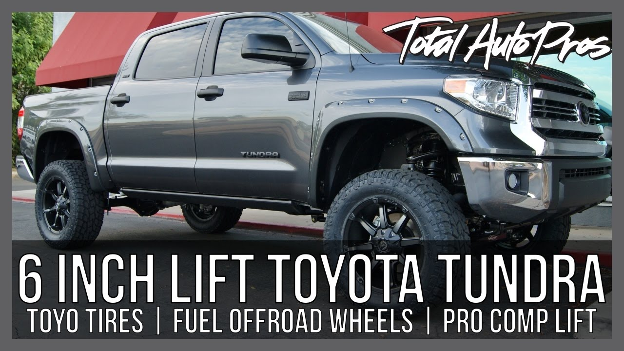 2017 Toyota Tundra Gray SR5 Crewmax | 6 inch Lift Kit ...