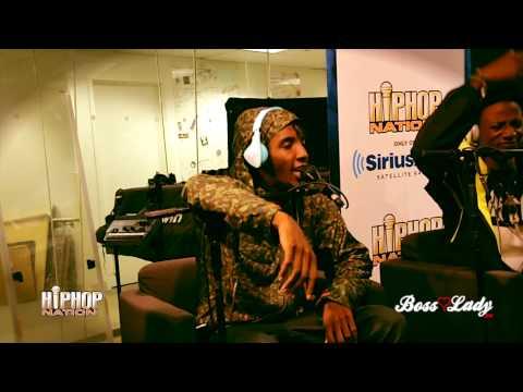 "Joey Bada$$ & Pro Era ""On Da Spot"" Freestyle For Hip Hop Nation"