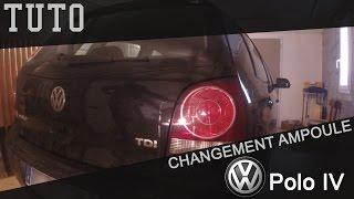 [TUTO] Polo IV : Changer une ampoule de feu arrière