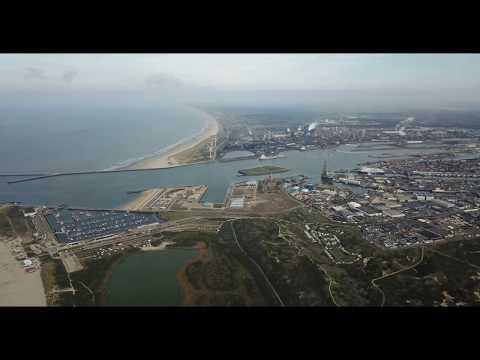 Drone video IJmuiden, 20-10-2018, DJI Mavic Pro, Armin van Buuren Intense
