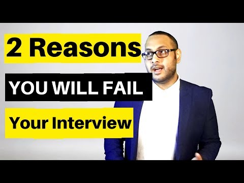 Why YOU FAIL - Investment Banking Interviews