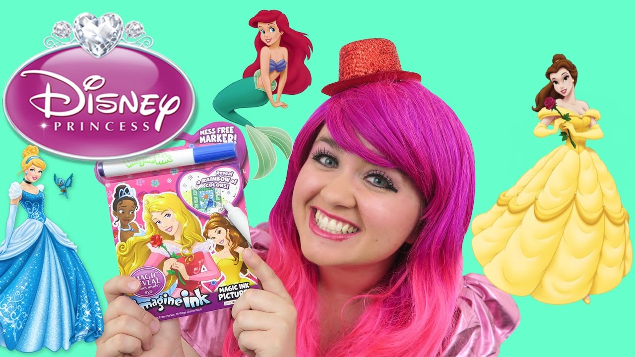 Disney Princess Magic Ink Coloring Activity Book Imagine