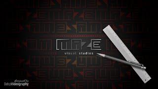 ✒️LOGOTYPE CONCEPT | MAZE Visual Studios COREL DRAW Tutorial | DelcaVideography
