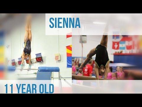 Sienna an amazing 11 year old gymnast!