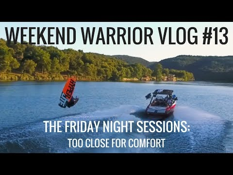 Wakeboarding Weekend Warrior Vlog The Friday Night Sessions: The Jet Ski Incident