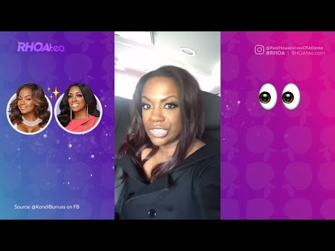 Kandi & Tiny CLAP BACK at Porsha & Phaedra's Accusations on FB LIVE | Real Housewives of Atlanta