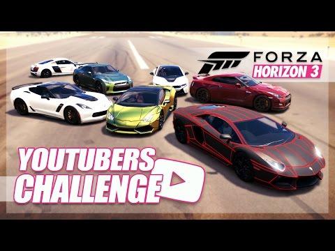 Download Forza Horizon 3 - YouTuber Cars Challenge! (KSI, Roman Atwood, Ali-A) Pics