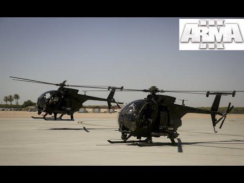 ARMA 3 | KOTH | Joystick Pilot | RHS Mod HC | Middle of the night flights!