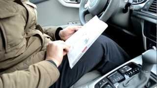 Как открыть бензобак у Audi(Новая машинка. Всё непривычное. Даже бак сразу не получилось открыть. :), 2013-02-27T16:26:10.000Z)