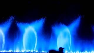 видео Шоу танцующих фонтанов. Протарас. Кипр