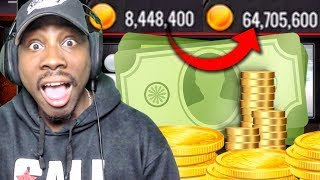 EARNING 56 MILLION COINS IN 25 SECONDS! NBA Live Mobile Gameplay Pack Opening Ep. 160