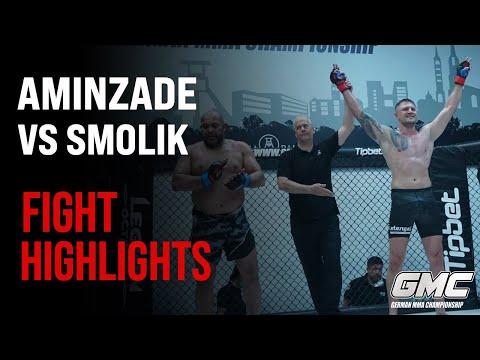 Smolik vs Aminzade   Fight Highlights   GMC FightNight 9