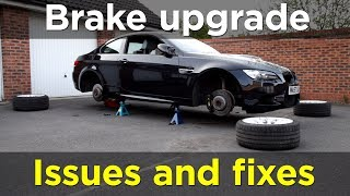 Nightmare problems with BMW brake pads and hoses - Project BMW M3 pt.10 | Road & Race S03E13