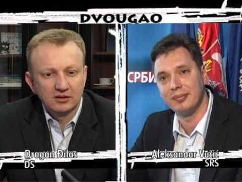 DVOUGAO 063  Dragan Đilas - Aleksandar Vučić (apr. 2008)