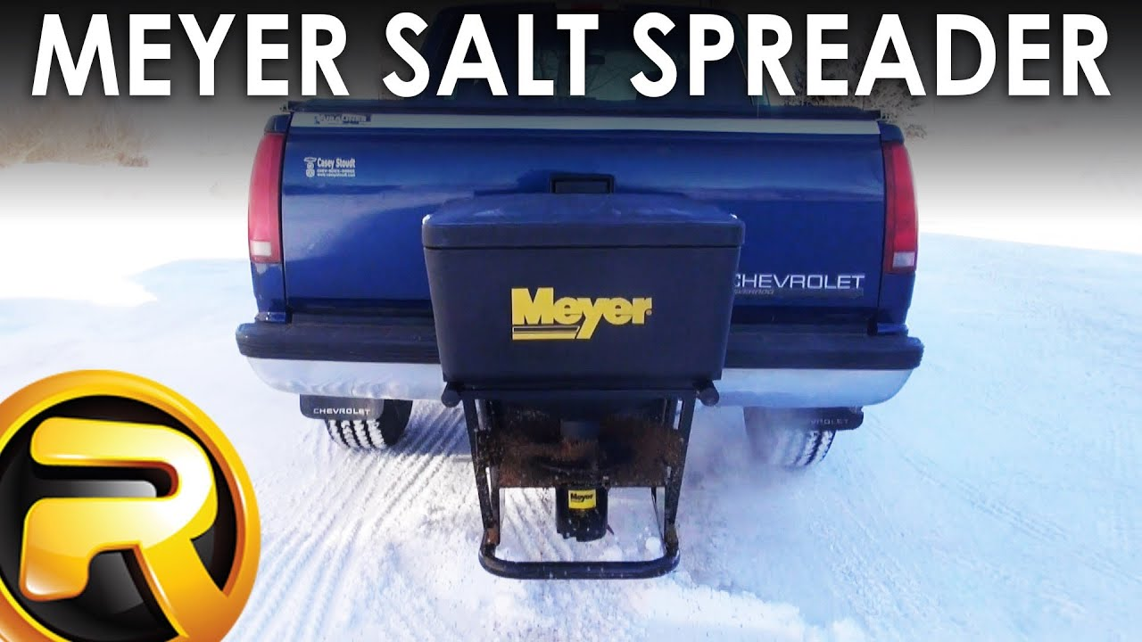 How To Install The Meyer Salt Spreader Through Google Glass Youtube Buyers Wiring Diagram