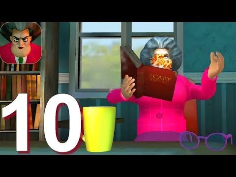 Scary Teacher 3D - Gameplay Walkthrough Part 10 - Miss T Spider Prank (Android, iOS)