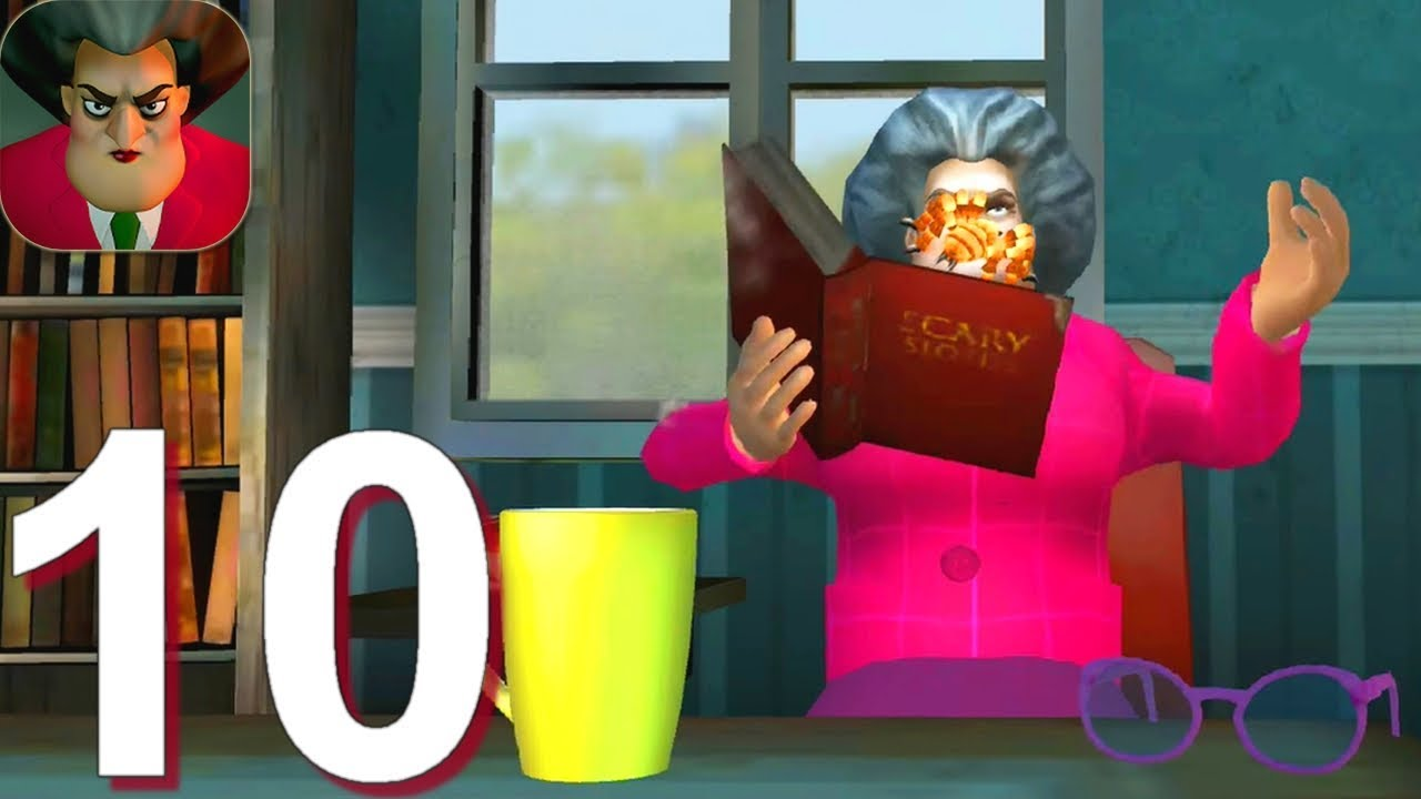 Download Scary Teacher 3D - Gameplay Walkthrough Part 10 - Miss T Spider Prank (Android, iOS)