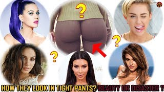 Most famous celebs follow the trend of wearing tight yoga pants that could shock us